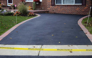 Sealcoated Driveway