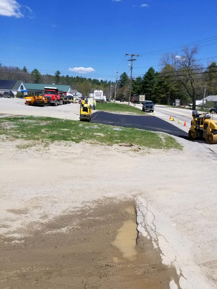 New Driveway construction